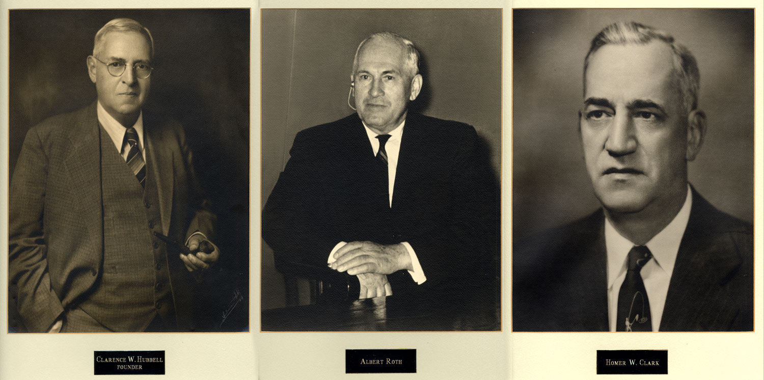 hrc founders, hubbel, roth and clark