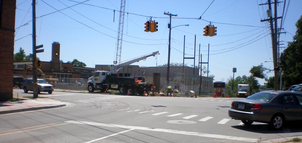 grand rapids intersection view of traffic management center