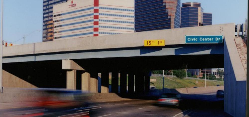 southfield civic center bridge