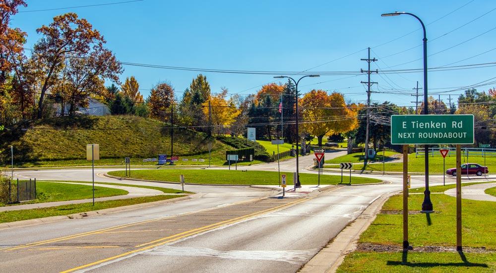 tienken road street view